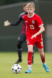 WREXHAM, WALES - Thursday, August 15, 2019: Wales' Matthew Senior during the UEFA Under-15's Development Tournament match between Wales and Northern Ireland at Colliers Park. (Pic by Paul Greenwood/Propaganda)