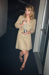 BILLIE PIPER at the 2006 Glamour Women of the Year Awards 2006 held in Berkeley Square Gardens, London W1 on 6th June 2006.<br />