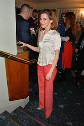 LOUISE BREALEY at the opening night of People, Places & Things at The Wyndham's Theatre, Charing Cross Road, London on 23rd March 2016,