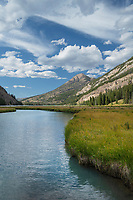 Green River, Bridger Wilderness, Wind River Range Wyoming