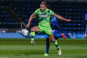 Goal Norwich City forward Jordan Rhodes (11), on loan from Sheffield Wednesday, scores his hatrick during the EFL Cup match between Wycombe Wanderers and Norwich City at Adams Park, High Wycombe, England on 25 September 2018.