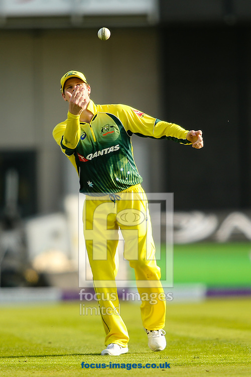 Steve Smith of Australia during the 3rd One Day International match at Old Trafford Cricket Ground, Stretford<br /> Picture by Andy Kearns/Focus Images Ltd 0781 864 4264<br /> 08/09/2015