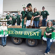 St. Patrick's Day Parade - Equestrian Events Inc. Float