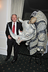 KEN LIVINGSTONE at a dinner in aid of the charity Save The Rhino held at ZSL London Zoo, Regents Park, London NW1 on 16th November 2011.