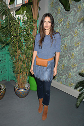 DOINA CIOBANU at the launch of Matthew Williamson's 'Sea to Shore' range for The Outnet.com held at the Matthew Williamson's showroom, Studio 10-11, 135 Salusbury Road, London NW6 on 5th May 2016