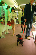 OLIVIA YIN; DOLLY; TIM BEDDOES, Prada presents a book documenting the company's diverse projects in fashion, architecture, film and art. Prada Shop. 16/18 Old Bond St. London W1. *** Local Caption *** -DO NOT ARCHIVE-© Copyright Photograph by Dafydd Jones. 248 Clapham Rd. London SW9 0PZ. Tel 0207 820 0771. www.dafjones.com.<br /> OLIVIA YIN; DOLLY; TIM BEDDOES, Prada presents a book documenting the company's diverse projects in fashion, architecture, film and art. Prada Shop. 16/18 Old Bond St. London W1.