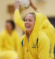 Christchurch-Netball, Australia Team Training