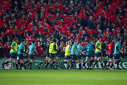 January 19, 2019 - Limerick, Ireland - Munster players pictured during the Heineken Champions Cup match between Munster Rugby and Exeter Chiefs at Thomond Park in Limerick, Ireland on January 19, 2019  (Credit Image: © Andrew Surma/NurPhoto via ZUMA Press)