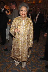 BARONESS FLATHER at the Eastern Eye Asian Business Awards 2007 in the presence of HRH The Duke of York at the Hilton Park Lane, London on 8th May 2007.<br />