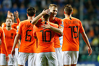 09-09-2019: Voetbal: Estland v Nederland: Tallinn<br /> Kwalificatieronde EK 2020<br /> <br /> Memphis Depay of The Netherlands and Matthijs de Ligt of The Netherlands<br /> <br /> Foto: Dijks Fotografie / Henk Jan Dijks<br /> <br /> Foto: Henk Jan Dijks