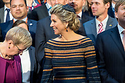 Koning Willem-Alexander en koningin Maxima bezoeken Airbus spacecenter tijdens een werkbezoek aan de Vrije Hanzestad Bremen.<br /> <br /> King Willem-Alexander and Queen Maxima visit Airbus spacecenter during a working visit to the Free Hanseatic City of Bremen.