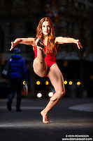 Union Square: Dance As Art the New York City Photography Project with dancer Claudia Maciejuk