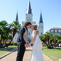 Just Married & Jackson Square Group Pictures