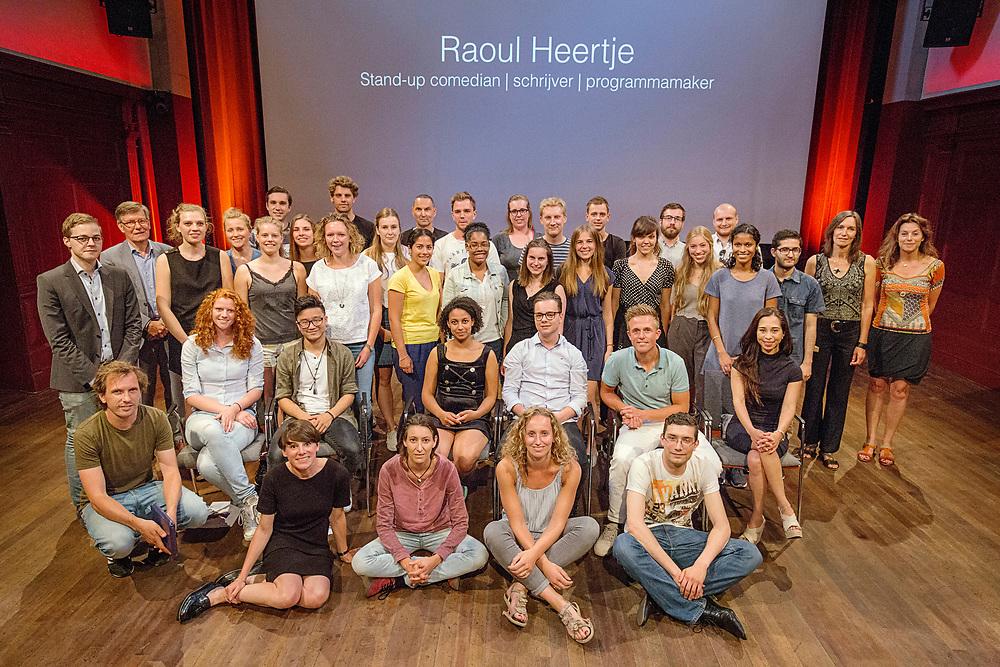 Nederland Amsterdam 21 juni 2017.<br />De Balie HVA masterclass met Raoul Heertje.<br />Foto: Jan Boeve