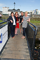 Ann Heneghan, (Solicitors Heneghan & Assoc., Joyce House Galway, Jacinta Lynam, webactivator, Richard Conroy, Web Activator and Aishling Hyland, Tír na nÓg. Photo:Andrew Downes.