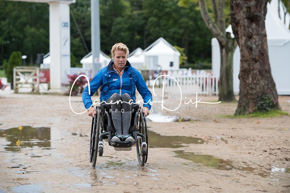 Den Dulk Nicole, (NED) <br /> Para-Dressage FEI European Championships Deauville 2015<br /> © Hippo Foto - Jon Stroud<br /> 16/09/15