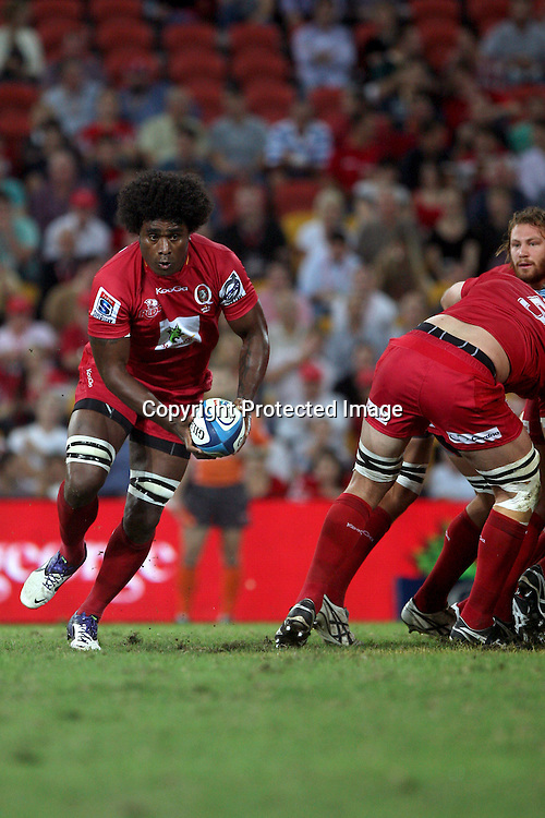 Radike Samo - 2012 St.George Queensland Reds FxPro Super Rugby season