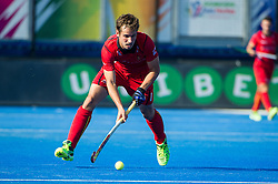 Belgium's Florent Van Aubel. Belgium v Germany - Unibet EuroHockey Championships, Lee Valley Hockey & Tennis Centre, London, UK on 22 August 2015. Photo: Simon Parker