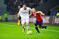 Benjamin BOULENGER / Florent BALMONT - 03.02.2015 - Lille / Lens - 35eme journee de Ligue 1<br />Photo : Dave Winter / Icon Sport