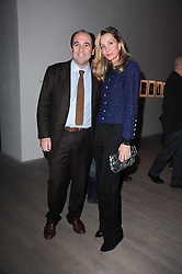 EMMANUEL & MARIA MOATTI at a private view of Masters of Photography - A Journey presented by Macallan and Albert Watson held at Philips De Pury, Howick Place, London SW1 on 1st December 2010.