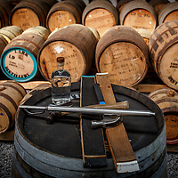 Barrels at Lark Distillery in Hobart, Tasmania, August 25, 2015. Gary He/DRAMBOX MEDIA LIBRARY