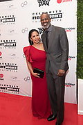 Brian McKnight and Leilani McKnight attend the Celebrity Fight Night event on March 23, 2019 in Scottsdale, AZ.