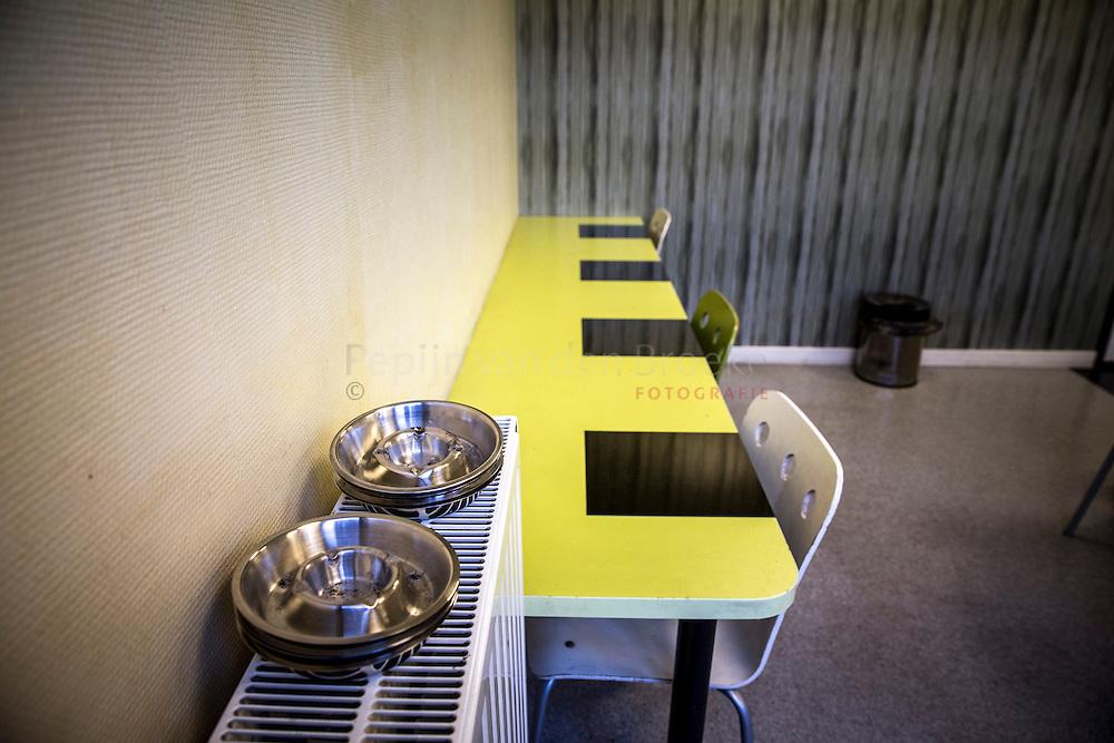 Nederland, Groningen 20140121. Verslavingszorg Noord Nederland (VNN), herebinnensingel 35. Gebruikruimte. foto: Pepijn van den Broeke