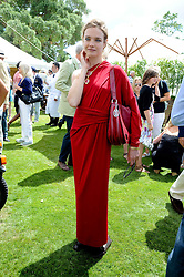 NATALIA VODIANOVA at a luncheon hosted by Cartier for their sponsorship of the Style et Luxe part of the Goodwood Festival of Speed at Goodwood House, West Sussex on 4th July 2010.
