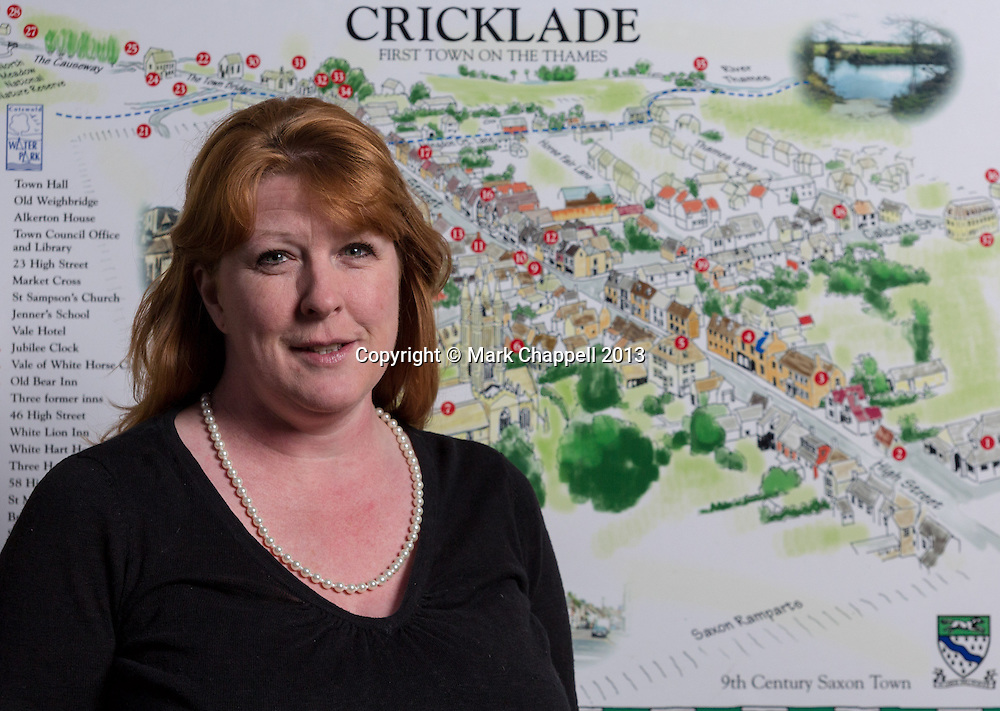 Portrait of Charlotte Rogers-Jones, the newly appointed town clerk of Cricklade. Thursday 28  March  2013.  Cricklade, UK.<br /> <br /> Photo Credit: Mark Chappell<br /> <br /> &copy; Mark Chappell 2013. <br /> All rights reserved, see instructions.