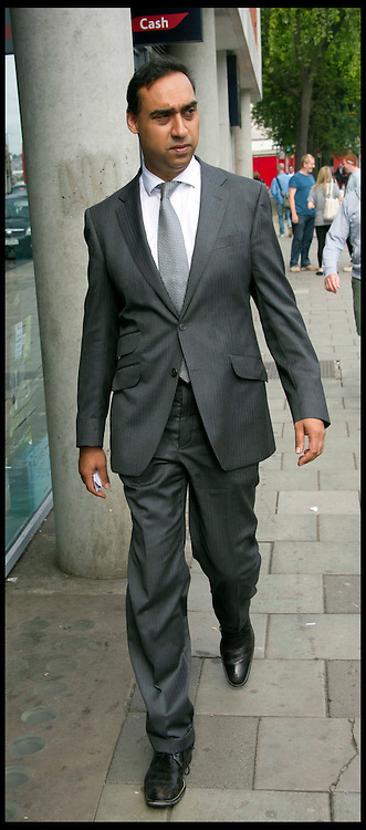 Rohan Pershad QC was charged with VAT fraud last week on 26 July 2012. Appearing at Highbury Corner Magistrates Court Thursday 2 August, 2012, to facing charges that he allledly  did not pay a total of £600,000 in tax over the 12-year period to September 2011. Photo by i-Images