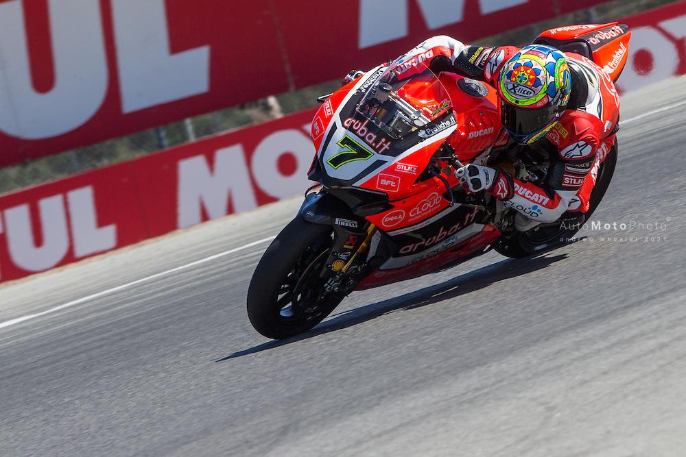 World Superbike Championship, Round 9, Laguna Seca, USA, 10 July 2016