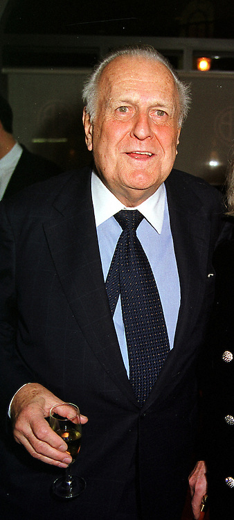 Art historian MR JOHN RICHARDSON at a party in London on 29th November 1999.MZN 4 MO