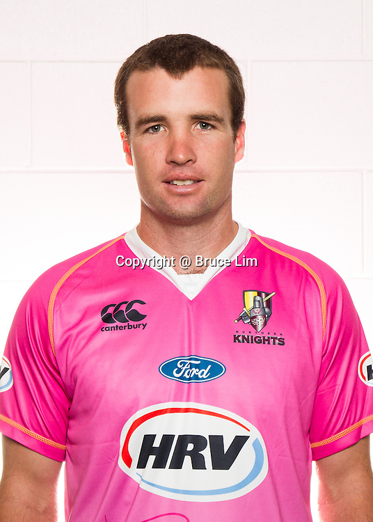 Brad Wilson<br /> <br /> Northern Knights squad 2012/2013.<br /> <br /> Photo:  Bruce Lim