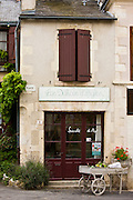 Les Delices d'Angles food shop in traditional French village of Angles Sur L'Anglin, Vienne, near Poitiers, France