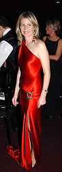 VISCOUNTESS LINLEY at the Russian Rhapsody Gala dinner concert held at The Royal Albert Hall, London on 11th April 2005.  <br /><br />NON EXCLUSIVE - WORLD RIGHTS