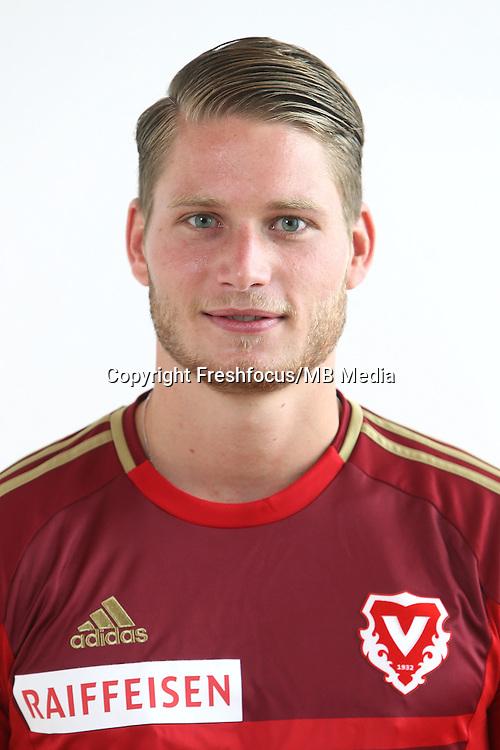 22.06.2015; Vaduz; Fussball Super League - FC Vaduz Portrait; Nicolas Hasler (Vaduz)<br /> (Eddy Risch/freshfocus)