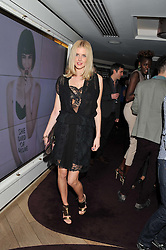 DONNA AIR at the launch of 'She Died of Beauty' as part of London Fashion Week Autumn/Winter 2012 held at The Club at The Ivy Club, London on 17th February 2012.