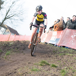 11-01-2020: Wielrennen: NK Veldrijden: Rucphen<br />Dean Verwaast