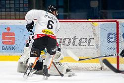 02.01.2016, Ice Rink, Znojmo, CZE, EBEL, HC Orli Znojmo vs Dornbirner Eishockey Club, 39. Runde, im Bild v.l. Jonathan Daversa (Dornbirner) David Madlener (Dornbirner) // during the Erste Bank Icehockey League 39nd round match between HC Orli Znojmo and Dornbirner Eishockey Club at the Ice Rink in Znojmo, Czech Republic on 2016/01/02. EXPA Pictures © 2016, PhotoCredit: EXPA/ Rostislav Pfeffer