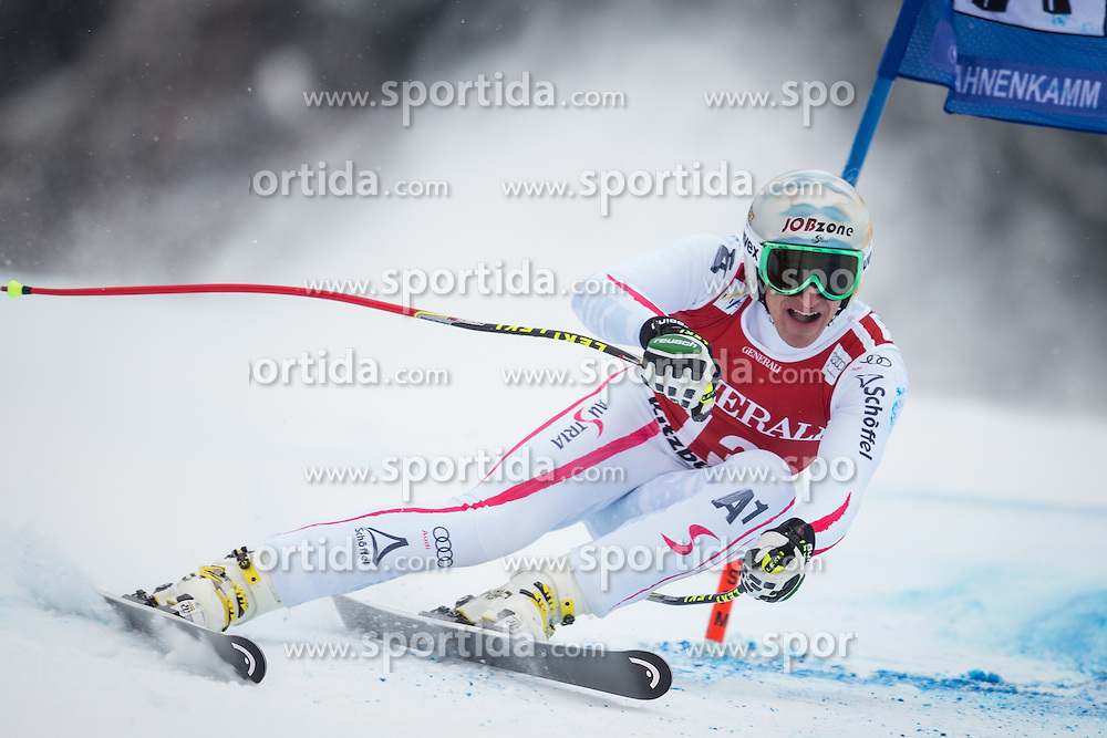 25.01.2013, Streif, Kitzbuehel, AUT, FIS Weltcup Ski Alpin, Super G, Herren, im Bild Matthias Mayer (AUT) // Matthias Mayer of Austria in action during mens SuperG of the FIS Ski Alpine World Cup at the Streif course, Kitzbuehel, Austria on 2013/01/25. EXPA Pictures © 2013, PhotoCredit: EXPA/ Johann Groder
