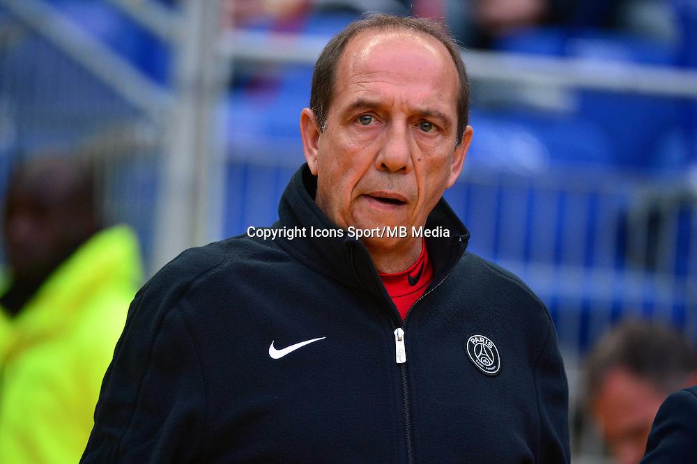 Jean Louis GASSET    - 11.04.2015 -  Bastia / PSG - Finale de la Coupe de la Ligue 2015<br />Photo : Dave Winter / Icon Sport