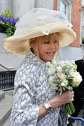 PATTIE BOYD  at the wedding of Pattie Boyd & Rod Weston  at Chelsea Registry Office, Chelsea Old Town Hall, King's Road, London on 30th April 2015.  Pattie Boyd was previously married to both George Harrison and Eric Clapton.