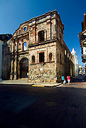 Panama, Panama City, Iglesia de San Ignacio de la Compania de Jesus, Casco Viejo, The Old Quarter, UNESCO World Heritage Site, Spanish Colonial Architecture
