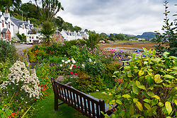 Village of Plockton, in Lochalsh, Wester Ross area of the Scottish Highlands ,Scotland, UK