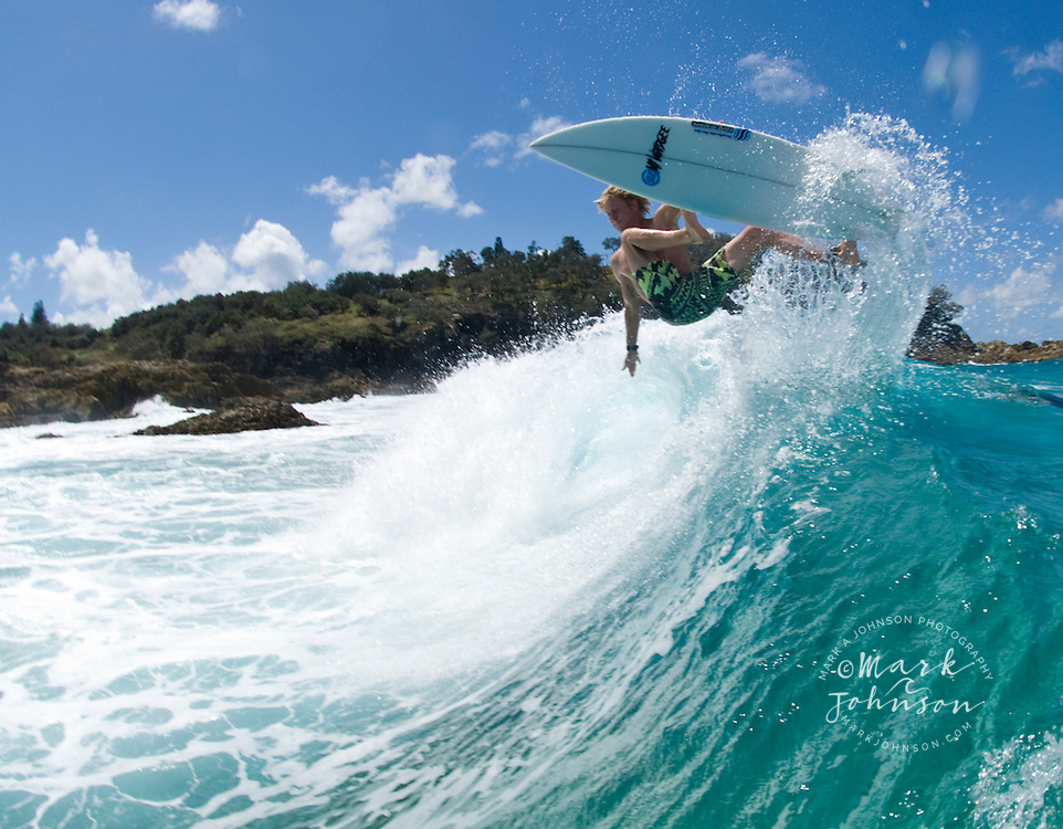 Surfing in Queensland, Australia ***Model Release available