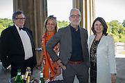 BRUCE PALLING; CATHERINE FOULKES; IVANO RUGGERI; LUCINDA BREDIN, Opening of Grange Park Opera, Fiddler on the Roof, Grange Park Opera, Bishop's Sutton, <br /> Alresford, 4 June 2015