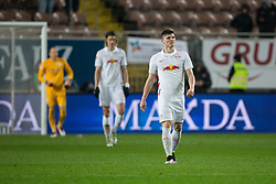 25.04.2016, Fritz Walter Stadion, Kaiserslautern, GER, 2. FBL, 1. FC Kaiserslautern vs RB Leipzig, 31. Runde, im Bild Marcel Sabitzer (Red Bull Leipzig) enttaeuscht nach dem Ausgleich // during the 2nd German Bundesliga 31th round match between 1. FC Kaiserslautern vs RB Leipzig at the Fritz Walter Stadion in Kaiserslautern, Germany on 2016/04/25. EXPA Pictures &copy; 2016, PhotoCredit: EXPA/ Eibner-Pressefoto/ Neis<br /> <br /> *****ATTENTION - OUT of GER*****