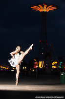 Ballerina on the Boardwalk Dance As Art- The New York Photography Project featuring Anna Polyachenko