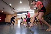 APO Dance Project, Te Manu Ahi rehearsals.<br /> Freeman's Bay Primary
