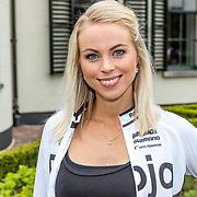 NLD/Nijkerk/20170414 - Ploegvoorstelling Sterrenfietsteam 2017, Sabine Vaz Nunes